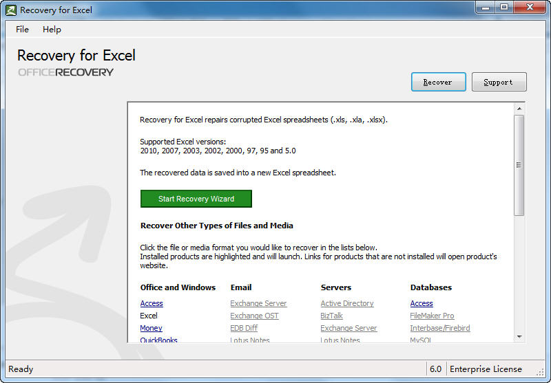 Office文件修复(OfficeRecovery 2013 Ultimate) v13.0.404第1张