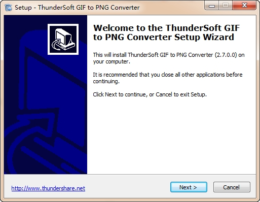 GIF转PNG软件ThunderSoft GIF to PNG Converter